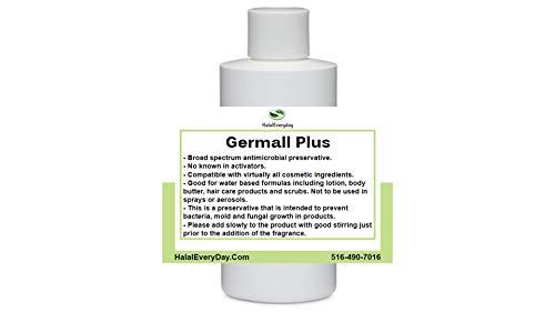 Germall Plus- Natural Preservative - Clear Liquid - Excellent broad...