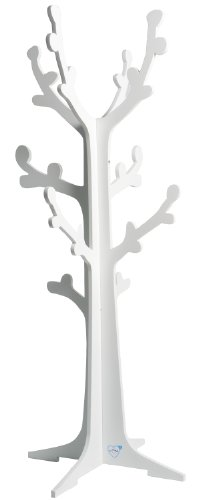 Poyetmotte Cerisier appendiabiti Tree, 45x 120cm, bianco
