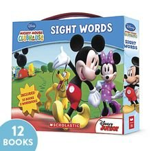 mickey mouse clubhouse sight words books