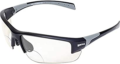 Hercules 7 24-Hour Photochromic Bifocal +2.5 Lens Safety Glasses Clear to Smoke Z87.1