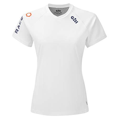 2020 Gill Womens Race Short Sleeve T Shirt - White - RS36 12