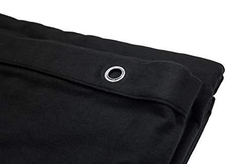 AcousPanel Cortina Acústica de Tejido Opaco Anti Ruido. Dimensiones 300x295 cm. Algodón ignífugo Afelpado a Las Dos Caras de 300gr.