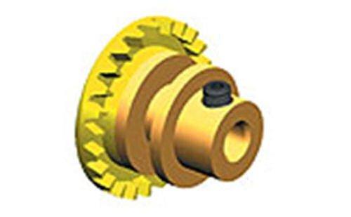 Ninco 80217 Couronne Prorace Inline 24 dents jaune