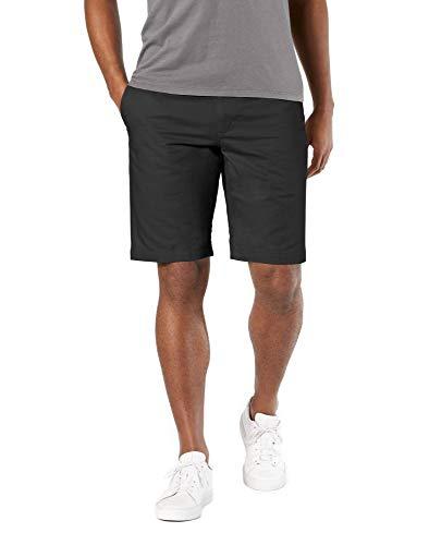 Dockers Men's Classic-Fit Perfect-Short - 38W - Black (Cotton)