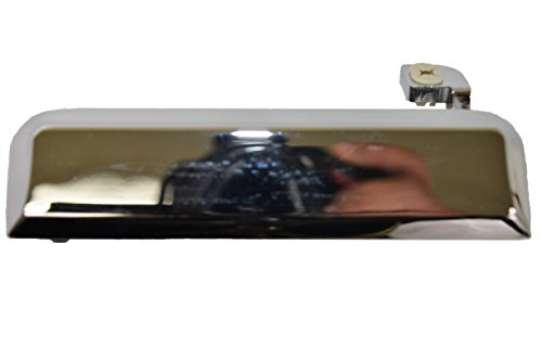 PT Auto Warehouse FO-3084M-LH - Outside Exterior Outer Door Handle, Chrome - Driver Side