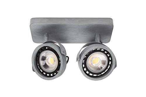 Spot Dice-2 DTW galvanisé | Un projecteur double qui diffuse une lumière douce