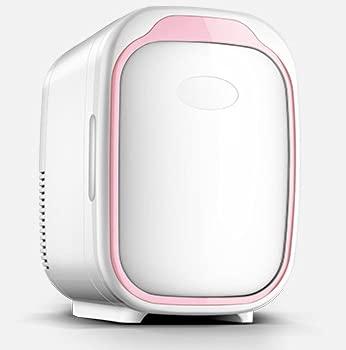 XIXIDIAN 6L Pequeña Nevera pequeña, Nevera Mini con función de enfriamiento y Calentamiento para Conducir, Viajar, Pescar, al Aire Libre, hogar (Color : Pink)