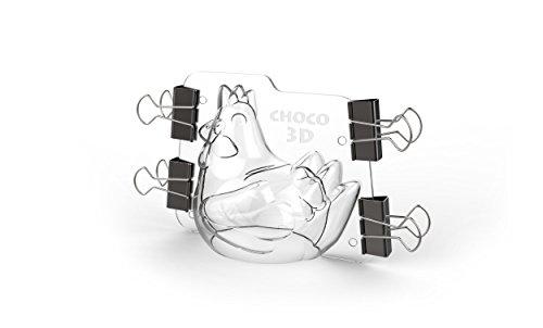 Cecoa–Stampo per gallina di Pasqua, in plastica trasparente