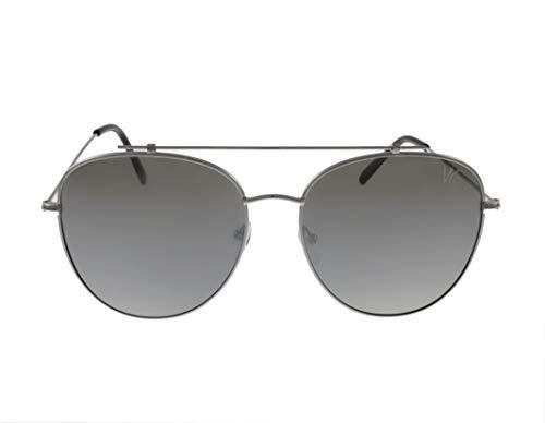 VYE Eyewear Sunglasses ShotGun Style Silver …