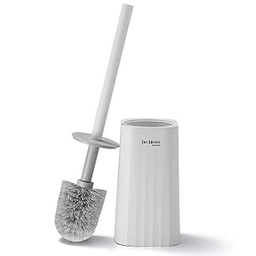 GERUIKE WC Bürste, Klobürstenhalter mit Schnell Trocknendem Halter,Klobürste für Badezimmer, Toilet Brush– Weiß