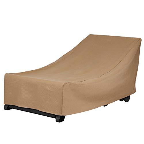 Duck Covers couvertures de Canard Essential Chaise Lounge Coque 74L x 34W x 32H Latte