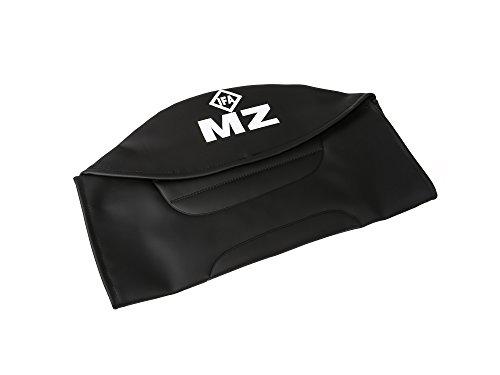 FEZ Sitzbezug strukturiert, schwarz mit MZ-Schriftzug - für MZ ETZ250