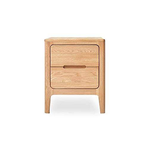 Moderna möbler Soffbord Litet kaffehylla, Massivt trä Fyrkantig Telefon/Sido/Lampa/Sängbord Nattduksbord/Slut Tillfälligt bord, Ljus Ek, 403550cm Slutbord Sidobord Nattbord