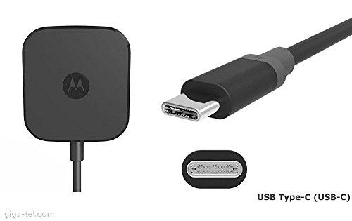 Motorola Turbo Power 15 USB-C / Ladegerät Typ C (Bulk-Verpackung) für Moto Z-Familie