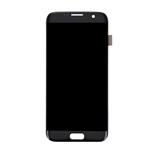 ZHOUYOUCHENGLCD Compatibel met Galaxy LCD Samsung Nieuw LCD-scherm + Touch Panel voor Galaxy S7 Edge / G9350 / G935F / G935A / G935V (zwart), zwart