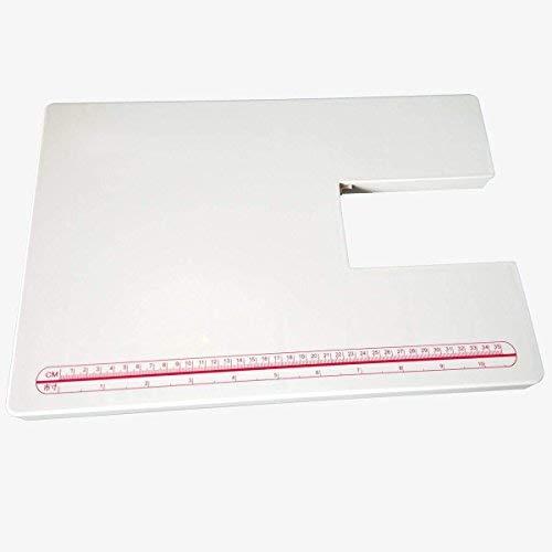 YICBOR Mesa de extensión acrílica para máquina de coser Singer 4411 4423 4432 5511 5523.