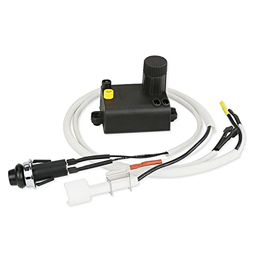 Hisencn 7642 Grill Igniter for Weber Spirit 210 & Spirit 310 Gas Grill Models with Up Front Controls (Model Years 2013 and Newer)