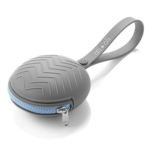 Ali+Oli Pacifier Holder Case (Grey)