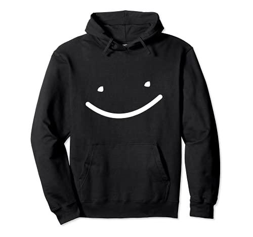 Funny Cute Black Smile Men Women Girls Kids Boys Merch Pullover Hoodie