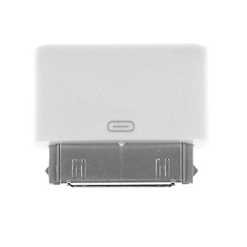 JENOR Adattatore da 8 pin femmina a 30 pin adattatore maschio compatibile per iPhone4 4S iPad2 3 iPad Touch3 4