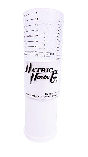 Wonder Cup Two Cup Adjustable Measuring Cup
