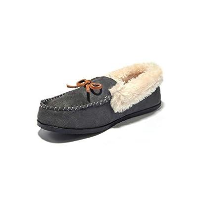 JIUMUJIPU Women's Lndoor Shoes Moccasins Sl...