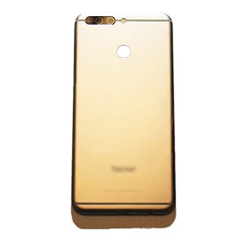 WWWFZS Carcasa de telefono 5,7 Pulgadas Teléfono Cubierta Vidrio Trasero Fit For Huawei Honor 8 Pro Duk-L09 / Honor V9 DUK-AL20 DUK-TL30 Caja Carcasa Puerta Piezas Vidrio Trasero (Color : Gold)