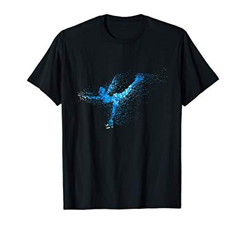 Eiskunstläuferin Eiskunst Eisbahn Eis Schlittschuh Geschenk T-Shirt