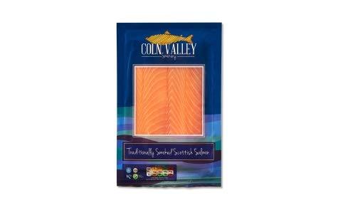 Coln Valley Smoked Scottish Salmon 3 Pack Bundle of 200g