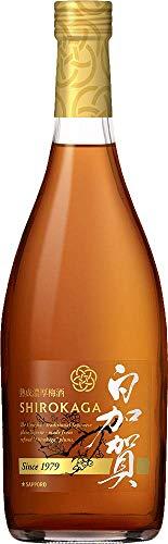 サッポロビール『熟成濃厚梅酒白加賀』