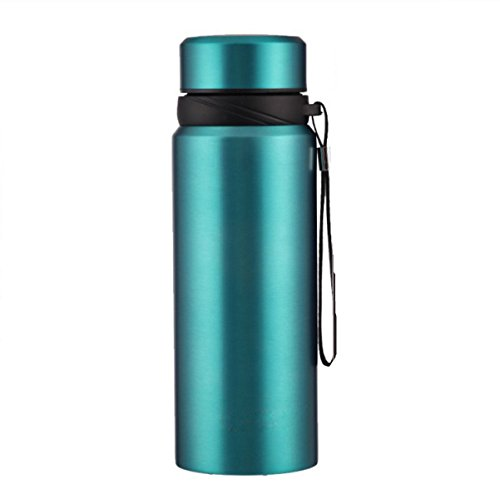Axiba- RVS Flask Thermosfles Draagbare Isolatie Cup Dubbelwandige Tea Cup Reizen