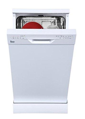 Teka - Lavavajillas A++ de 45 cm para 9 cubiertos y 5 programas de lavado - Blanco - 84.5 x 44.8 x 60