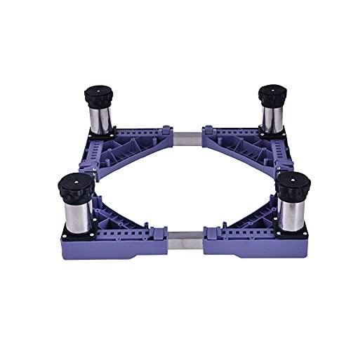 Base Lavadora VibracióN Altura 14-17cm Soporte Ajustable Universal para Secador Refrigerador Ajustable Largo/Ancho 45-68cm Soporte y Bastidor para Refrigerador Prueba De Humedad (4Legs,14-17cm)