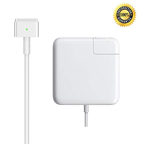 Mac Book Air Charger, AC 45W Magsafe 2 T-Tip Power Adapter Charger Replacement for MacBook Air 11/13 inch (for Mac Book Air Released After Mid 2012)