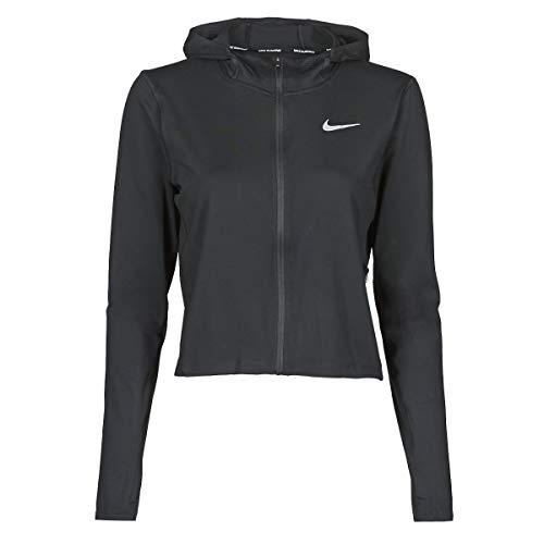 Nike W Nk Element Ssnl Fz - Sudadera de forro polar para mujer, color negro, talla L