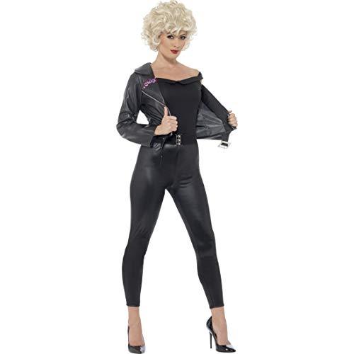 NET TOYS Grease Kostüm Sandy 50er Jahre Outfit S 36/38 sexy Rockabella Damenkostüm Rockabilly Karnevalskostüm Rock'n'Roll Frauenkostüm Musical Mottoparty