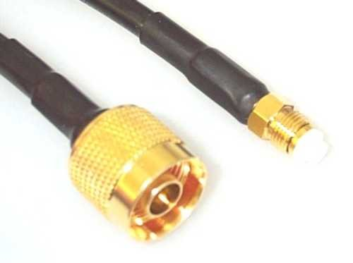 Antenne Verbindungskabel Kabel H155 N-Male auf FME Female Länge 10m