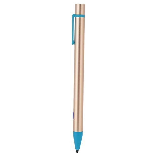 ASHATA Stylus Pen for ipad, Rechargeable Capacitive Pens for IOS Tablet, Fine Point Anti-Mistouch Tablet Touch Screen Pencil for ipad 2018, AIR2, MINI, PRO, etc