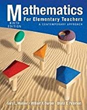 Mathematics for Elementary Teachers (9th, 11) by Musser, Gary L - Peterson, Blake E - Burger, William F [Hardcover (2010)]