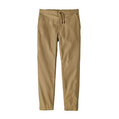 Patagonia M's Twill Traveler Pants Hose, Herren L Classic tan
