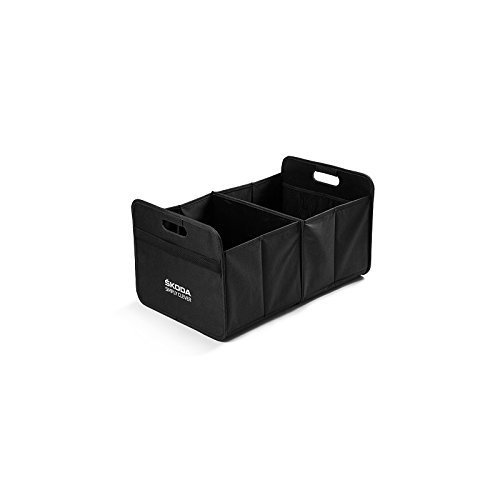 Skoda Original Faltbox Transport Box Tasche Kiste schwarz
