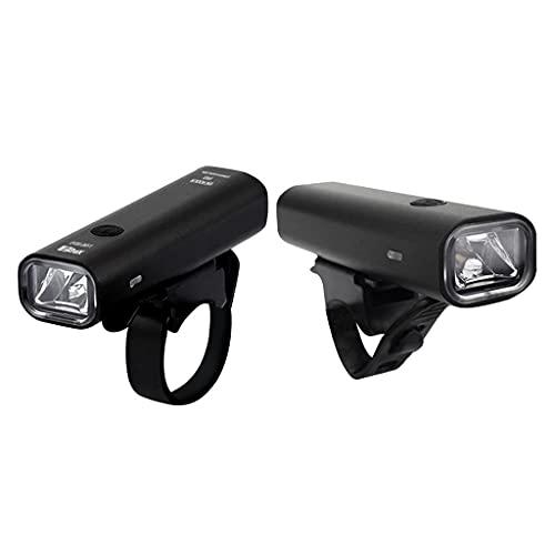Amagogo Torcia Notturna per Bicicletta LED MTB Ricaricabile da 2 Pezzi
