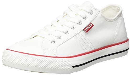 Levi's Hernandez S, Zapatillas Mujer, Regular White, 38 EU