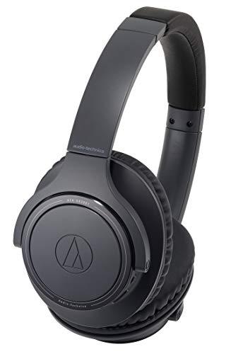 audio-technica SoundReality ワイヤレスヘッドホン Bluetooth マイク付 最大70時間再生 ブラック ATH-SR30BT BK