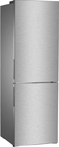 Daya Home Appliances DHCB-47DX, Frigorifero combinato,  Capacità 318 litri, Materiale Acciaio inox