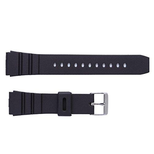 NICERIO Cinturino Orologio Impermeabile in Silicone Morbido Ultra Sottile 18mm / 20mm / 22mm Cinturino in Gomma per Ricambio per Smartwatch Sportivo 18mm