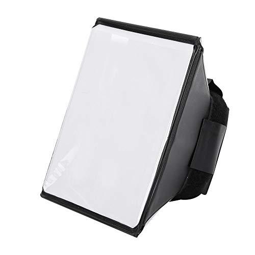 EBTOOLS Taschenlampe Softbox, tragbare Faltbare Mini-Diffusor-Softbox Camera Studio