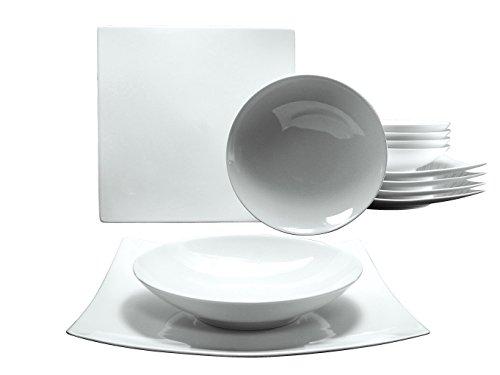 CreaTable 17091, Serie New Elegance, Geschirrset Tafelservice 12 teilig