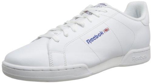Reebok Npc II - Zapatillas de Tenis, Hombre, Blanco (1354), 39 EU