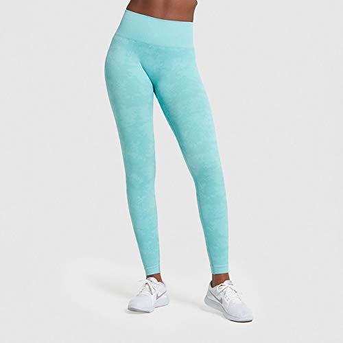 QingYu - Fitness-Dreiviertel-Hosen für Mädchen in C014605, Größe S